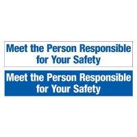 Slogan Mirror Labels - Meet The Person