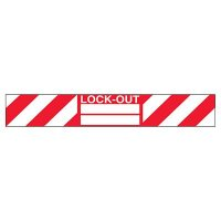 Lock-Out Padlock Label