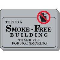 Smoke-Free Building Sign
