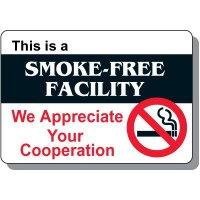 Smoke-Free Facility Sign