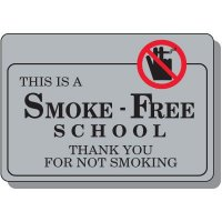 Smoke-Free School Sign