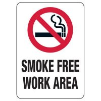 CO Smoke-Free Workplace Law Signs - Smoke Free Work Area