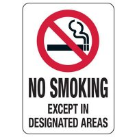 Utah Smoke-Free Workplace Law Signs - No Smoking