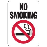 No Smoking Signs - No Smoking with Graphic