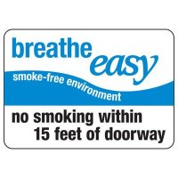 Oklahoma Breathe Easy Sign