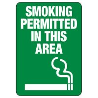 Minnesota Smoking Permitted Sign