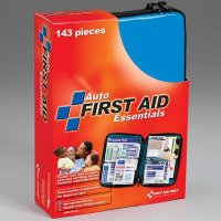 Soft Pack Auto First Aid Kit -143 piece First Aid Only FAO-552