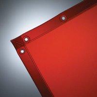 Wilson Spectra Orange See-Thru Welding Curtain  6636-25