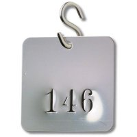 """Stainless Steel """"S"""" Hooks Valve Tag Fasteners - 100/Case"""