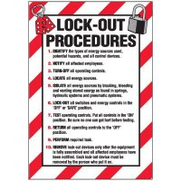Lock-Out Labels - Lock-Out Procedures