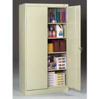 "18""-deep Tennsco Storage Cabinets"