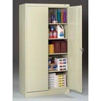 "24""-deep Tennsco Storage Cabinets"