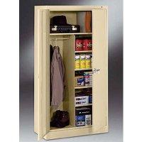 "18""-deep Tennsco Combination Storage Cabinets"