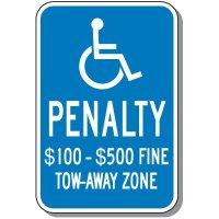 State-Specific Handicap Parking Signs - Virginia