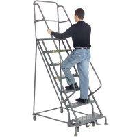 Steel Rolling Warehouse Ladders