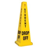 Student Drop-Off - Safety Cones