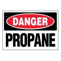 Super-Stik Signs - Danger Propane