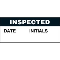 Inspected Super-Stik Status Label