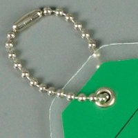 Metal Bead Chain Tag Fasteners
