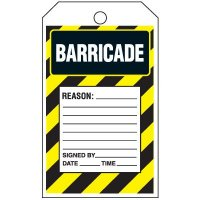 Barricade Tag