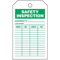 Safety Inspection Tags-On-A-Roll