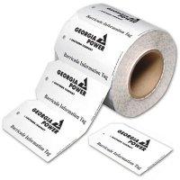 Custom-Worded Tags On-A-Roll