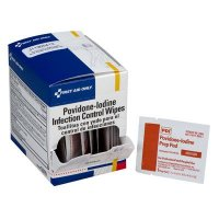 Iodine Wipes First Aid Only G310
