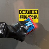 ToughWash® Labels - Caution Do Not Operate