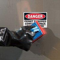 ToughWash® Labels - Danger Permit Required