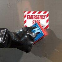 ToughWash® Labels - Emergency Stop