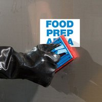 ToughWash® Labels - Food Prep Area
