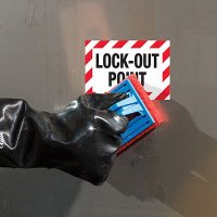 ToughWash® Labels - Lock-Out Point