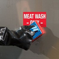 ToughWash® Labels - Meat Wash Only