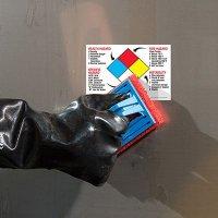 ToughWash® Labels - NFPA Diamond (With Hazards)
