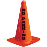No Parking Traffic Cone