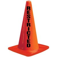 Restricted Traffic Cone