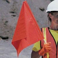 Traffic Control Warning Flag Cortina 03-229-3424