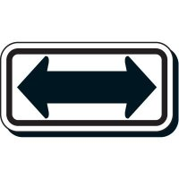Double Headed Arrow Symbol Sign