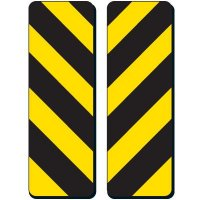 Hazard Strips Sign