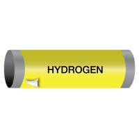 Hydrogen - Ultra-Mark® Self-Adhesive High Performance Pipe Markers