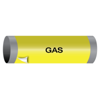Gas - Ultra-Mark® Self-Adhesive High Performance Pipe Markers