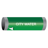 City Water - Ultra-Mark® Self-Adhesive High Performance Pipe Markers