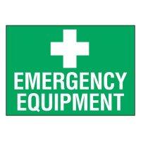 Super-Stik Signs - Emergency Equipment
