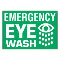 Super-Stik Signs - Emergency Eye Wash