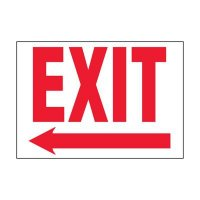 Super-Stik Signs - Exit With Arrow