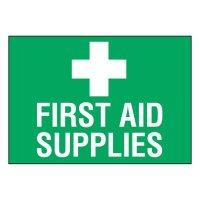 Super-Stik Signs - First Aid Supplies