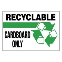Super-Stik Signs - Recyclable Cardboard Only