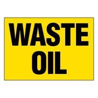 Super-Stik Signs - Waste Oil
