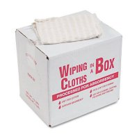 United Facility Supply Wiping Cloths in a Box  UFSN205CW05