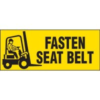 Fasten Seat Belt Label